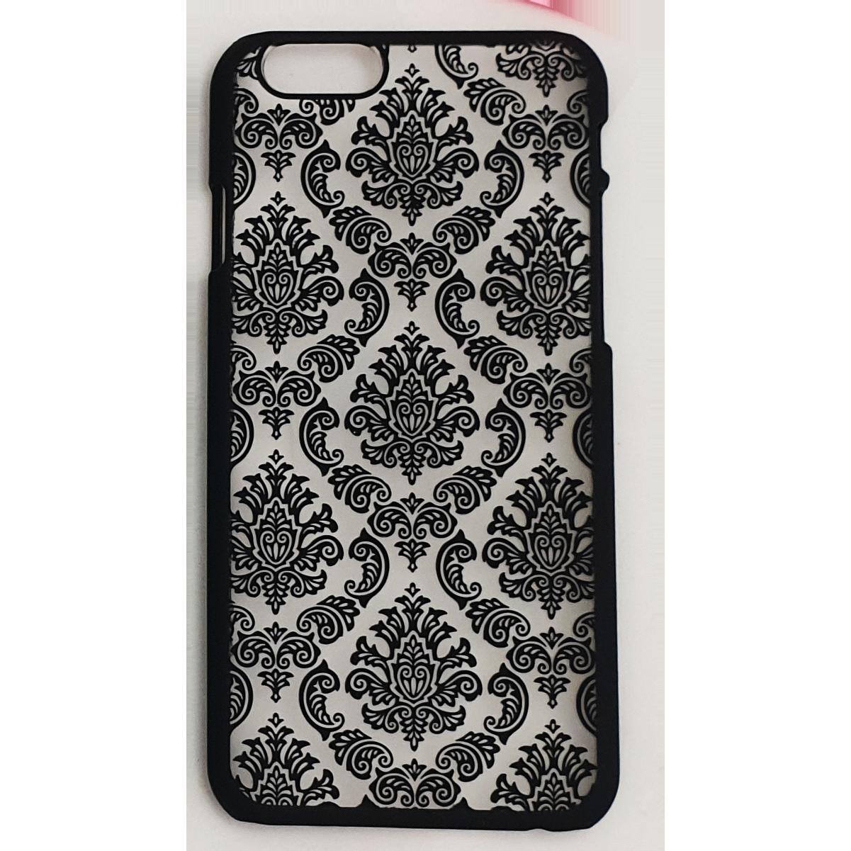 Mobilskal iPhone 6 / 6S Spetsmönster Svart