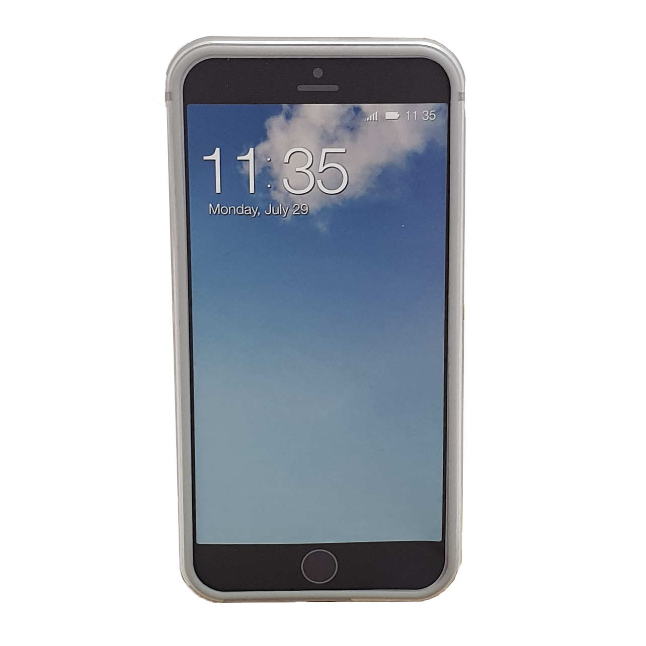 Mobilskal Bumper iPhone 6 / 6S Aluminium Muvit