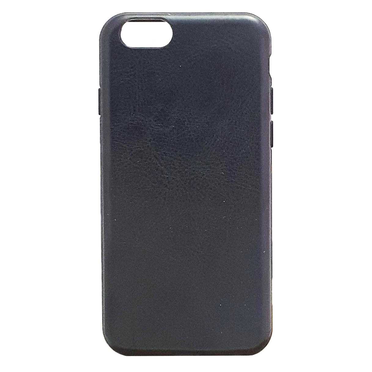 Mobilskal iPhone 6 / 6S Svart Läderfinish