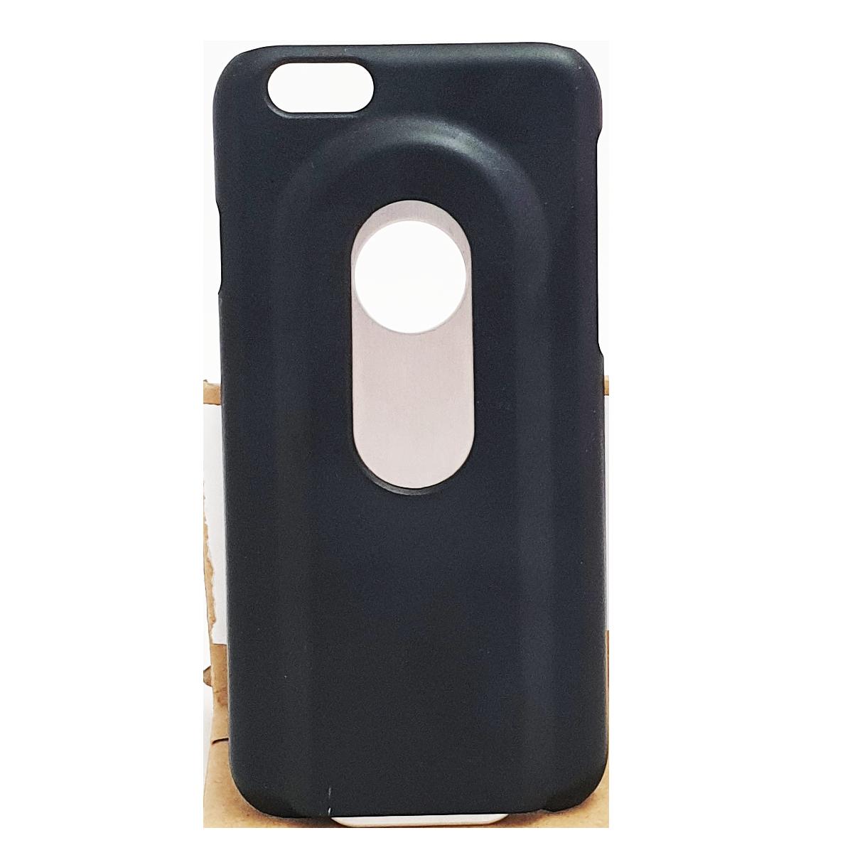 Mobilskal iPhone 6 / 6S Svart Kapsylöppnare