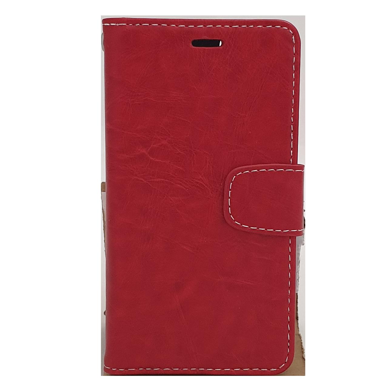 Mobilfodral iPhone 6 / 6S Röd Läder