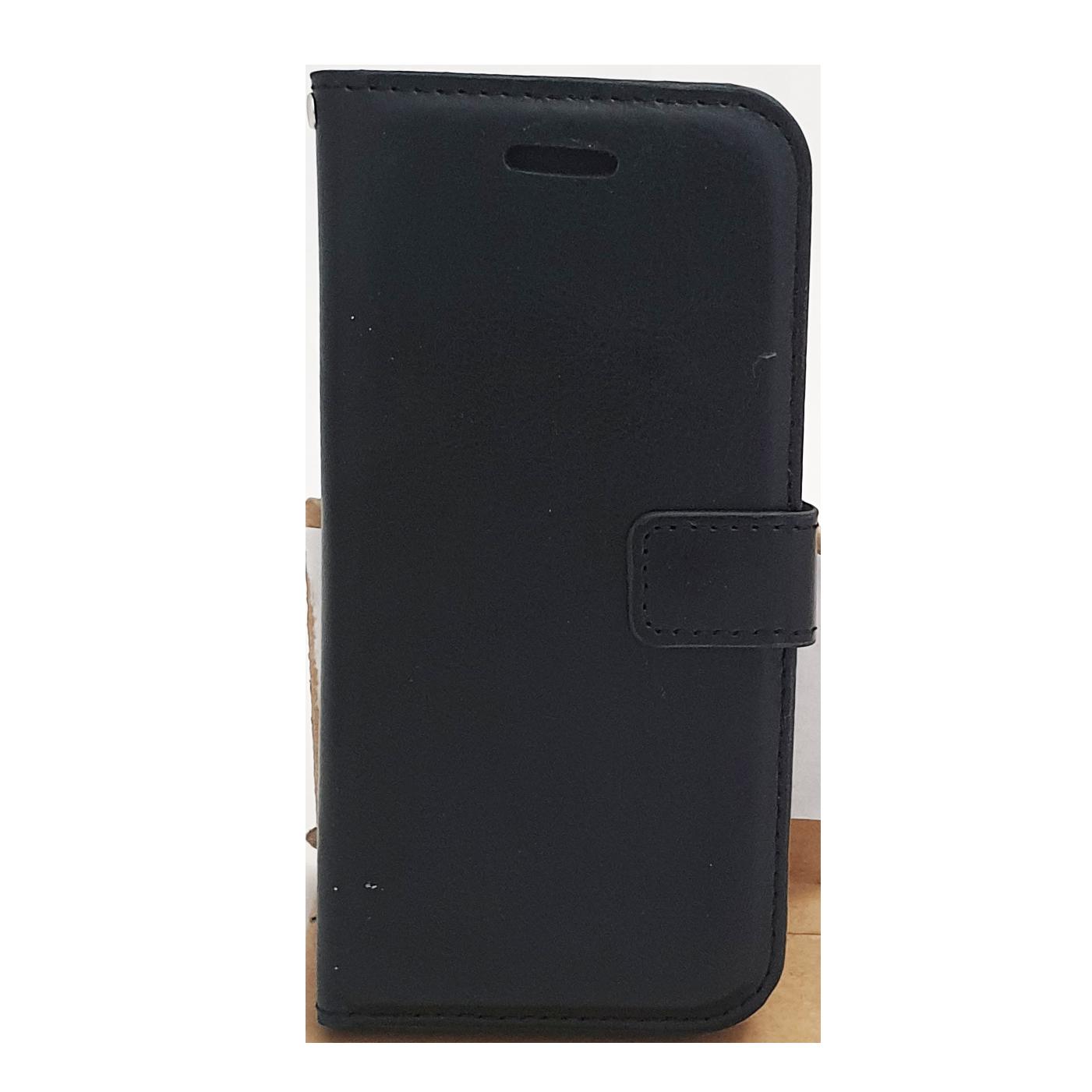 Mobilfodral iPhone 6 / 6S Svart Konstläder