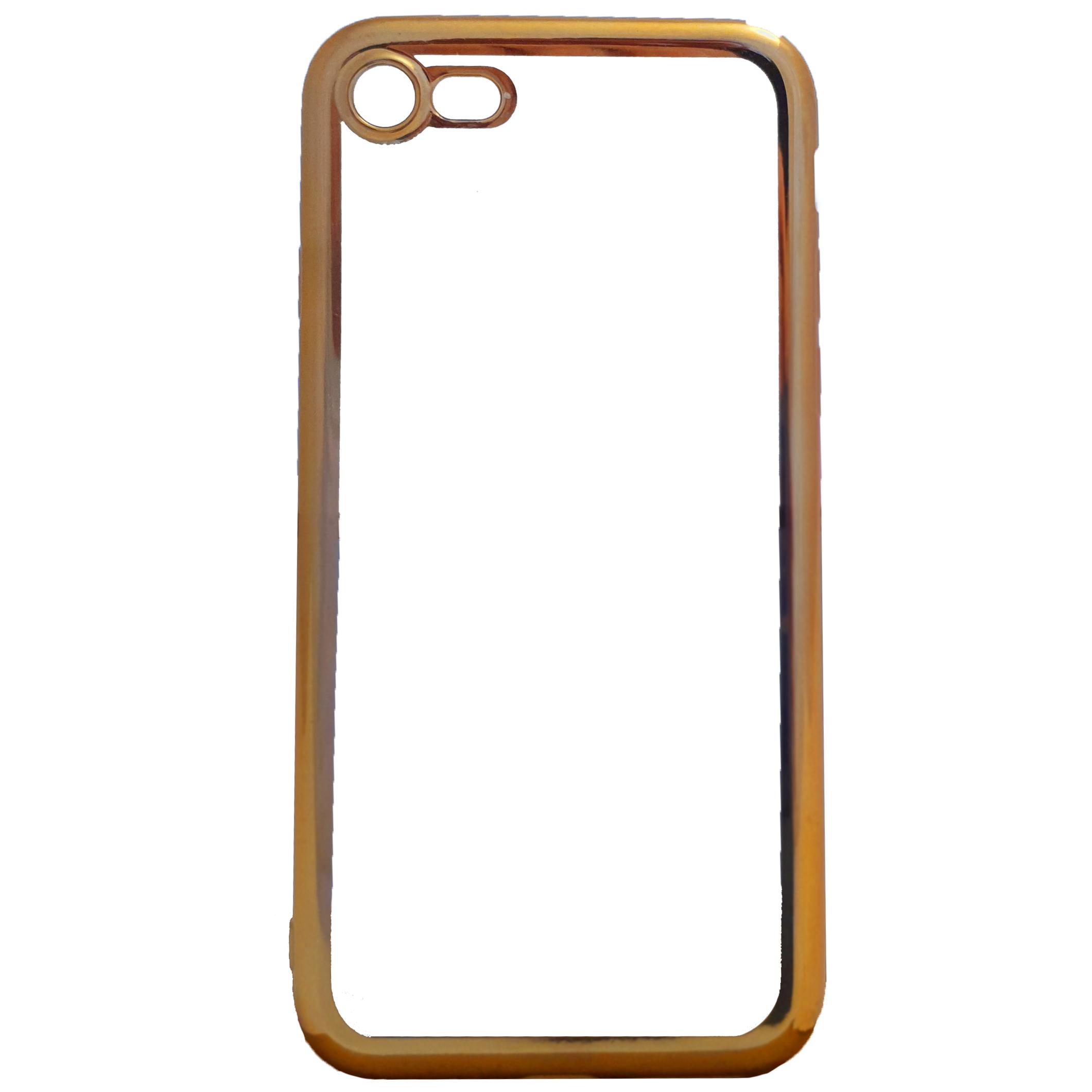 Mobilskal iPhone 7 guldkanter