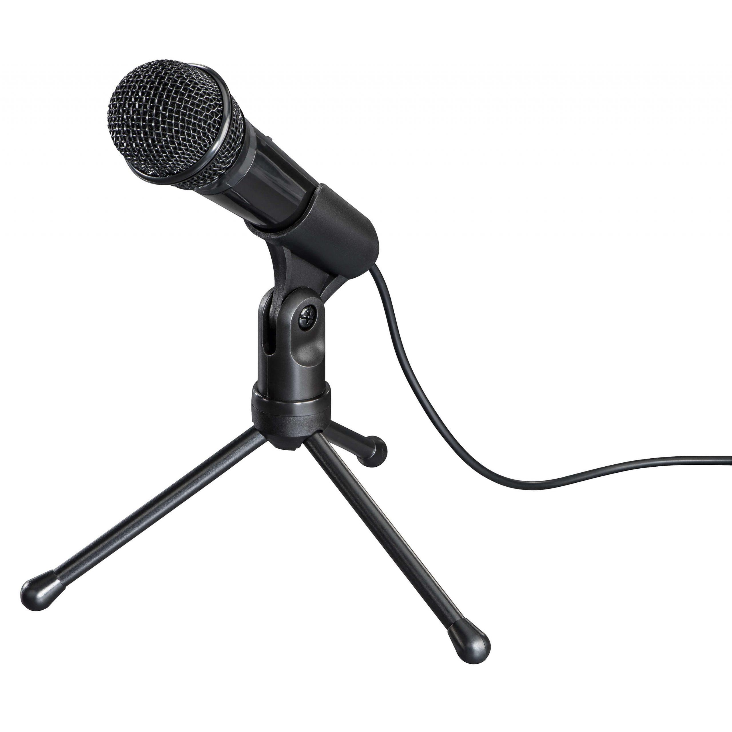 HAMA Mikrofon Allround 3.5mm Svart
