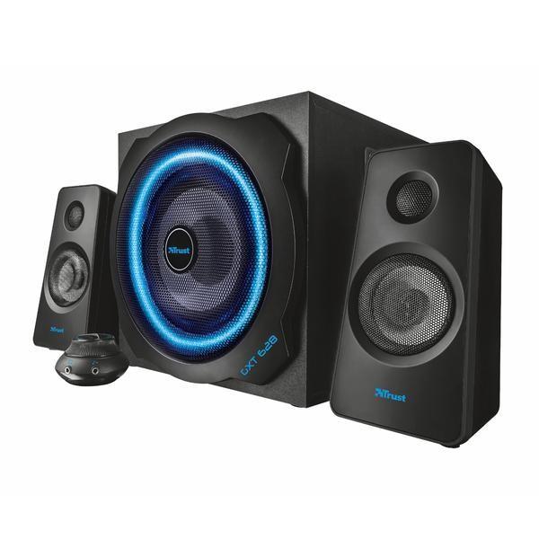 Trust GXT 628 2.1 Speaker Set med pulserande LED-belysning