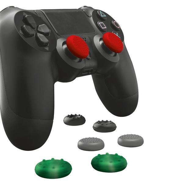 8-pack tumgrepp för PlayStation 4-kontroll