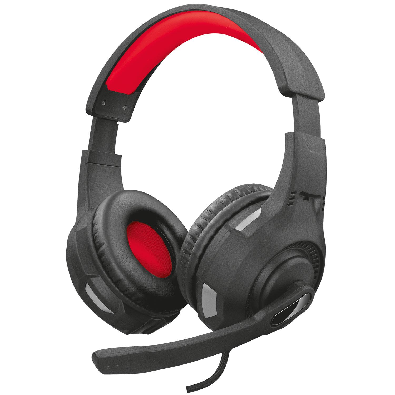 GXT 307 Ravu Gaming Headset Universalt - svart/röd
