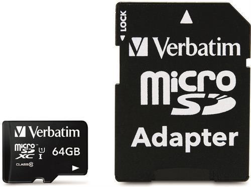 Premium 64 GB MicroSDHC