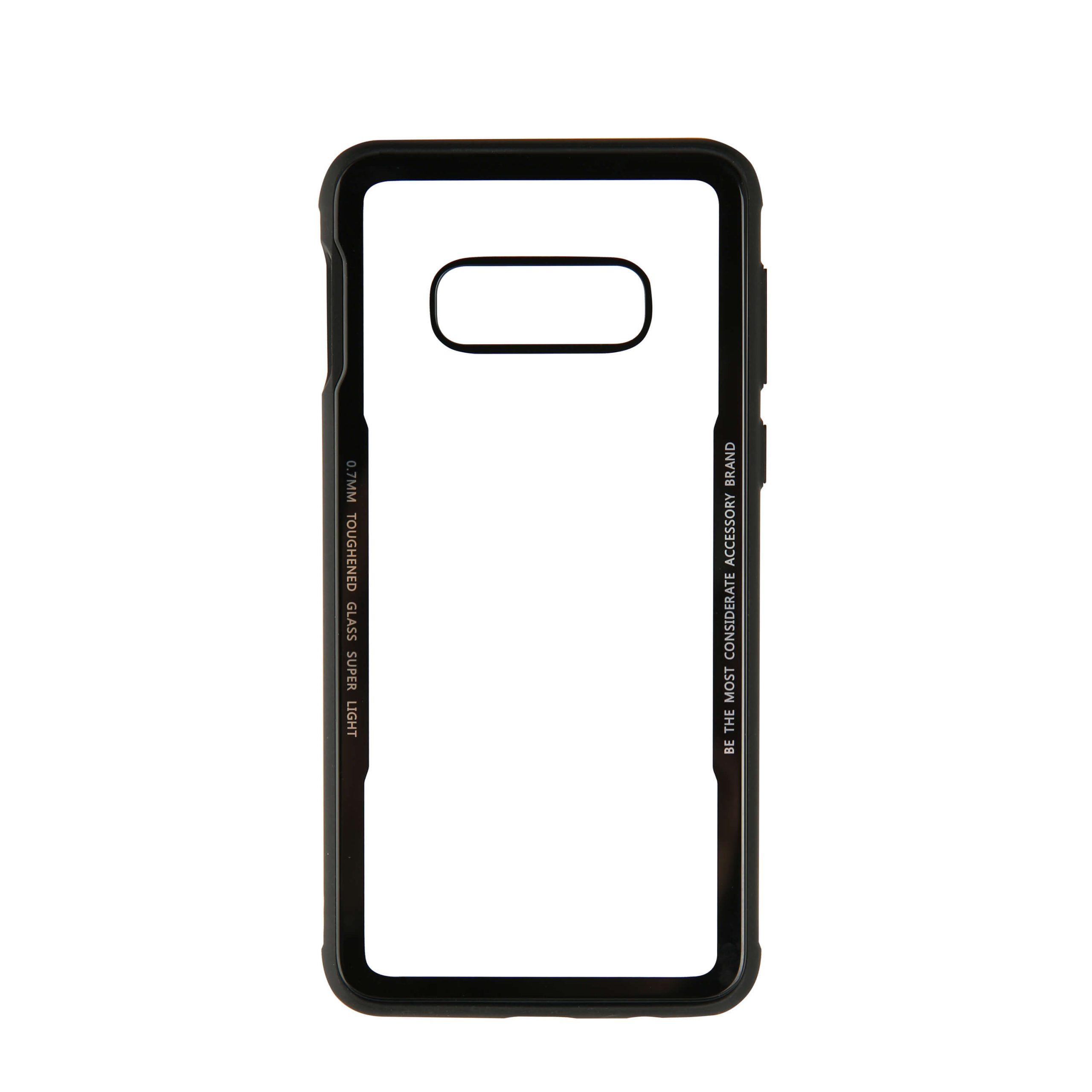 GEAR Mobilskal med Tempererat Glas Svart Samsung S10e