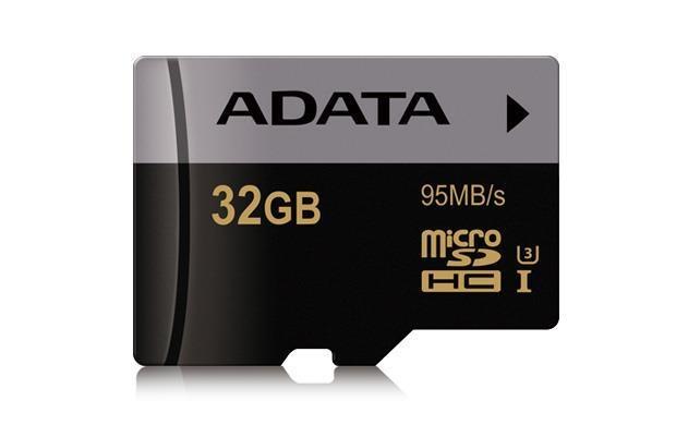 Snabbt SD-kort, UHS Class 3 , 32 GB,Läshastighet 95 MB/s