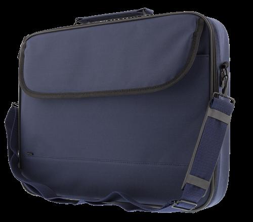 Blå notebookväska I polyester