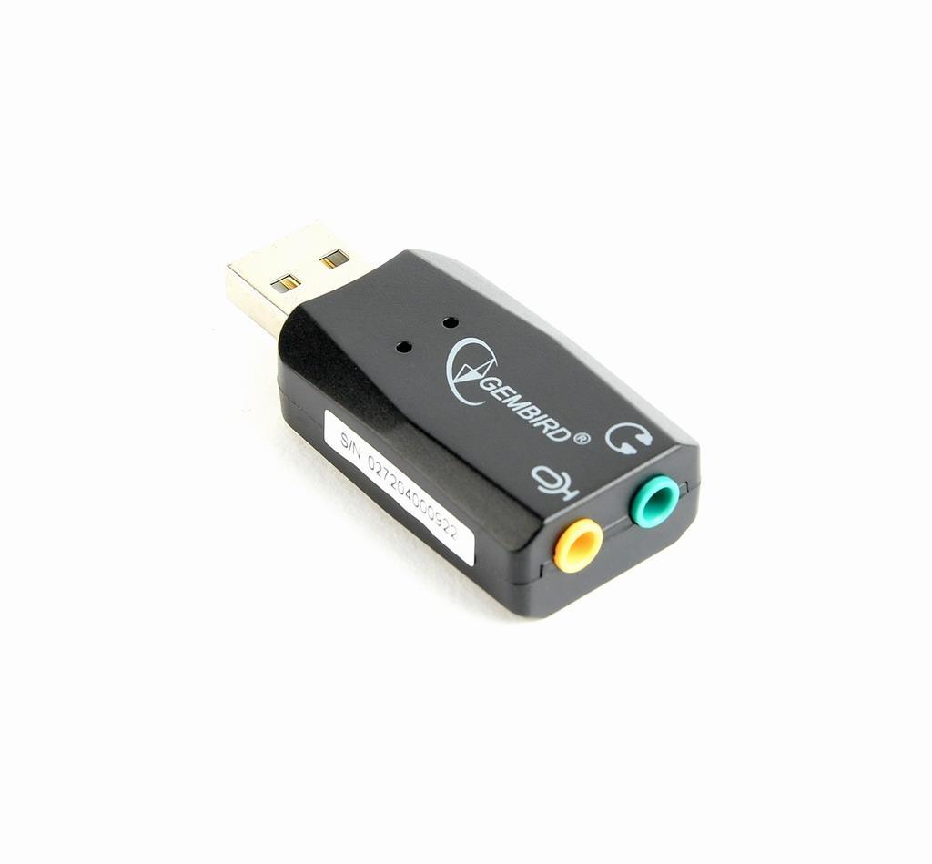 Gembird Premium USB-ljudkort för PC