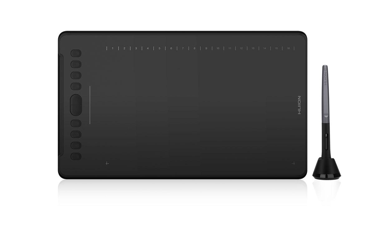 Huion Inspiroy H1161 Ritplatta, USB-C, Android, PC, MAC