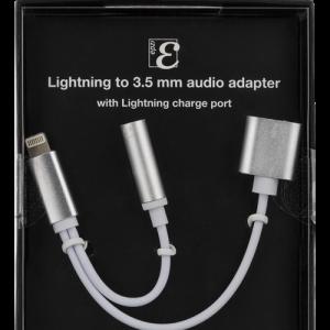 5 mm ljud-adapter med laddning