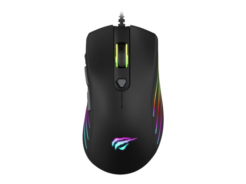 Havit MS1002 RGB Gaming Mouse - Svart