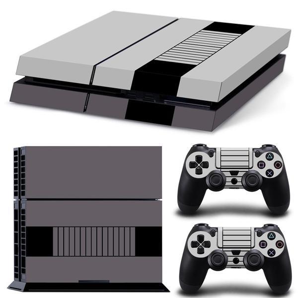 Retro NES liknande PS4 Skin