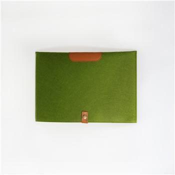 Grönt Stiligt fodral till din 13 tums laptop