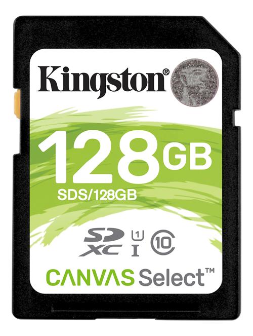 Kingston Canvas Select SDXC-kort