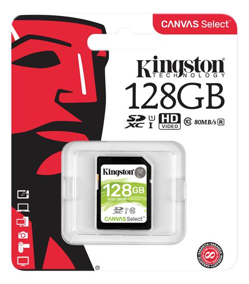 128GB klass 10