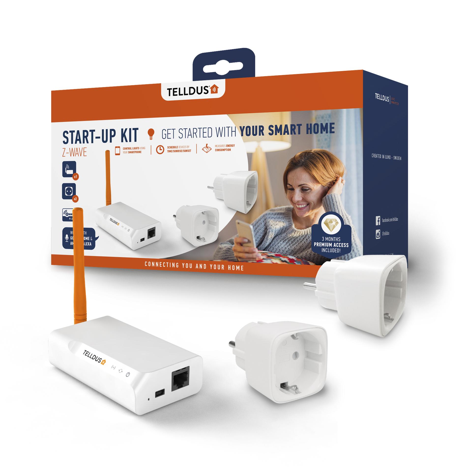 Telldus Start Kit Energy Premium Z-Wave