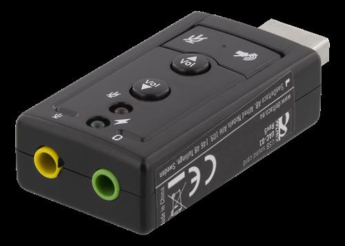 7.1 USB ljudkort för PC och Mac