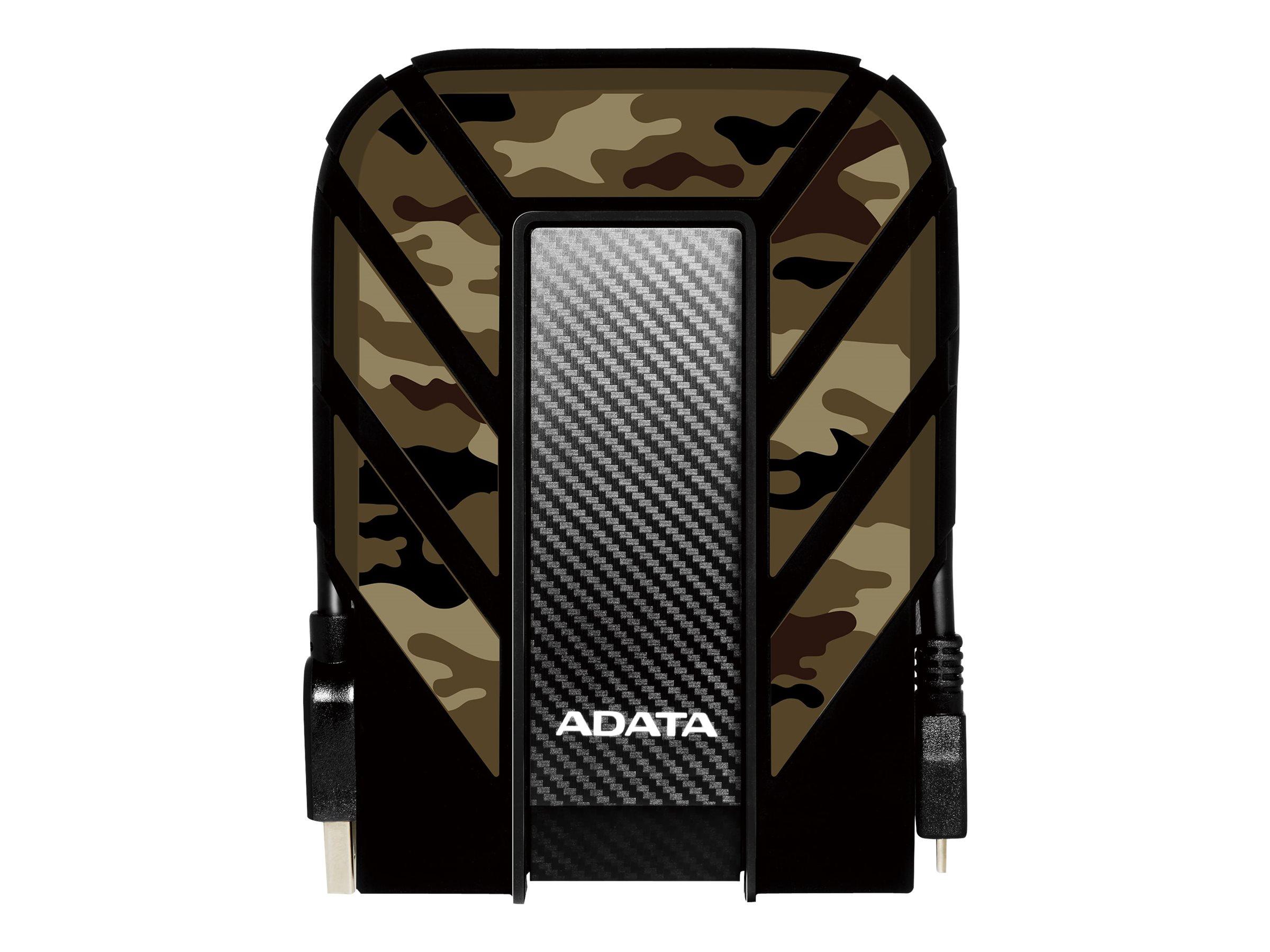 Adata Durable HD710 USB 3.1 Extern tålig hårddisk 2 TB svart