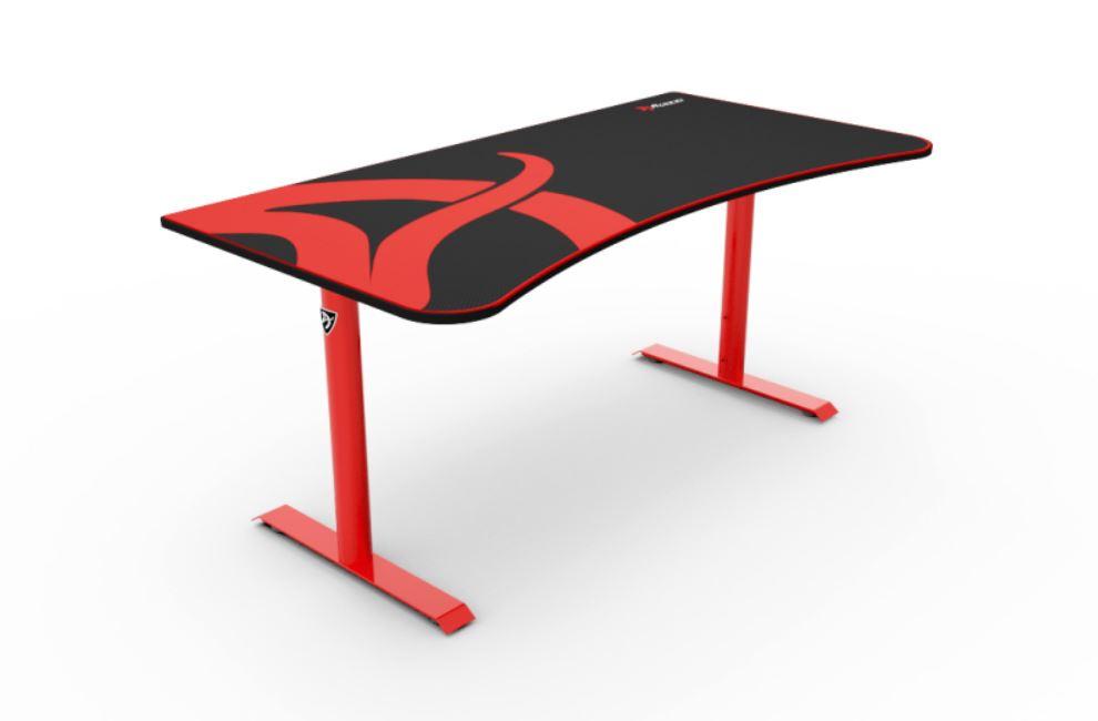 Arozzi Arena Gaming skrivbord - Röd 160x82 cm