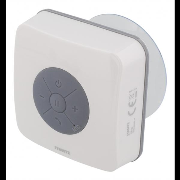 STREETZ vattentålig Bluetooth-högtalare med sugpropp