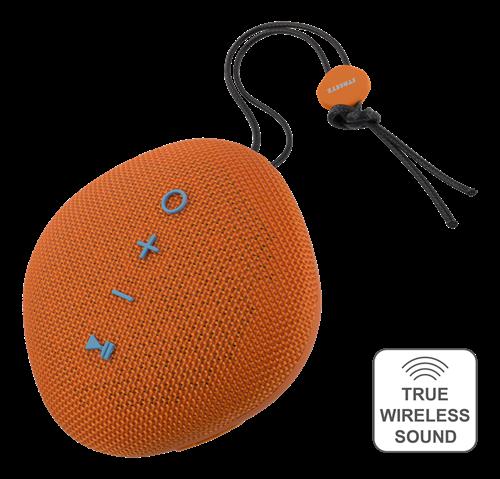 STREETZ vattentålig Bluetooth-högtalare orange
