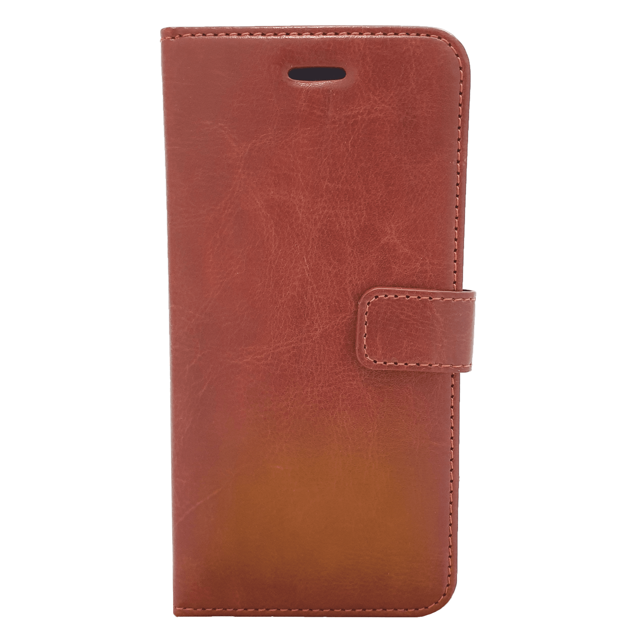 Mobilskal iPhone 6+ Röd/brun