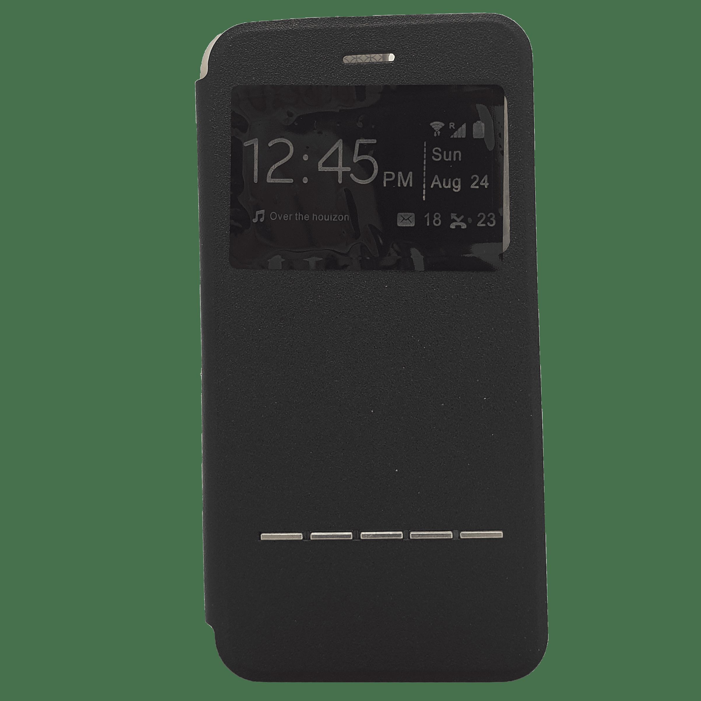 Mobilfodral iPhone 6+ Svart textur