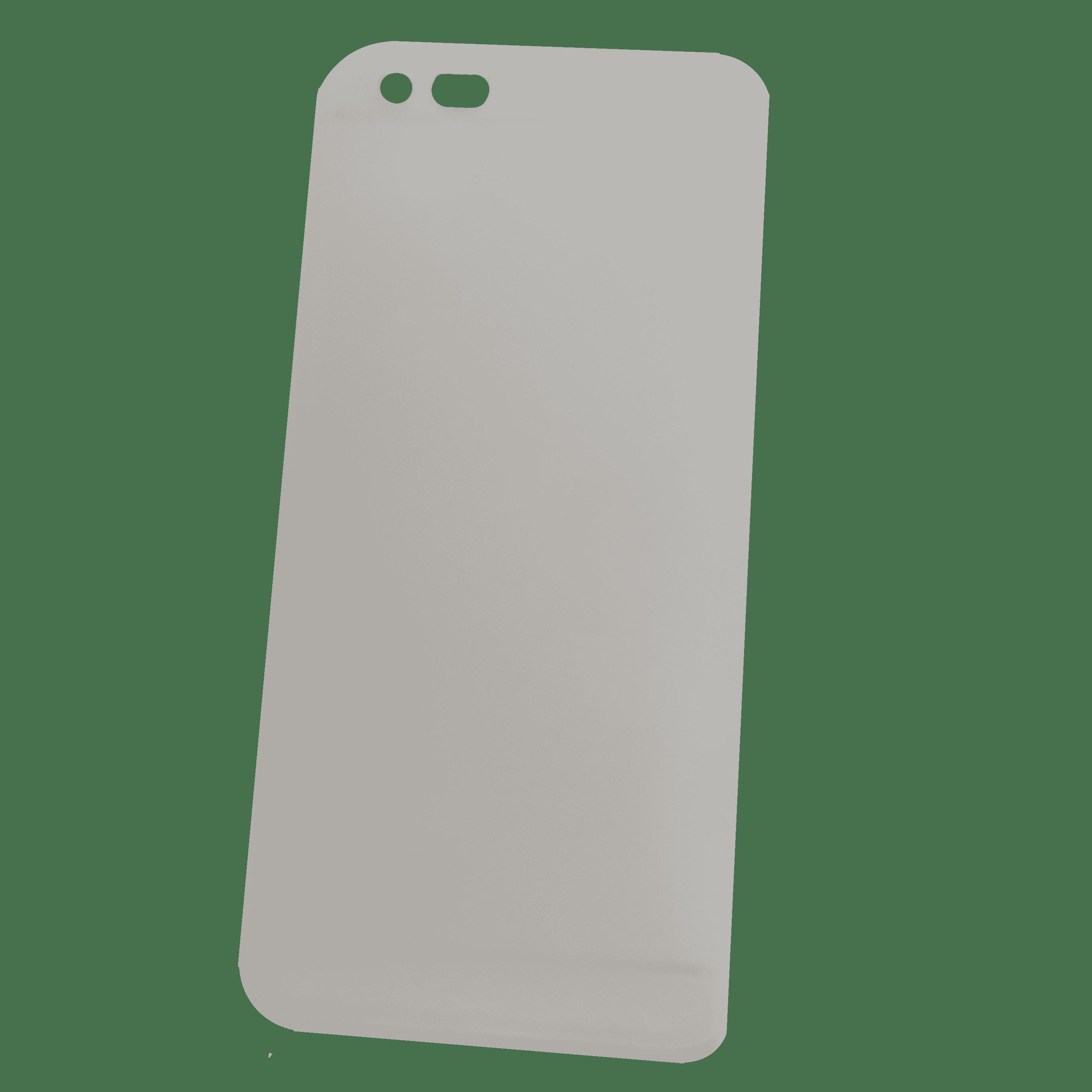 Mobilskal iPhone 6+ Vit genomskinlig