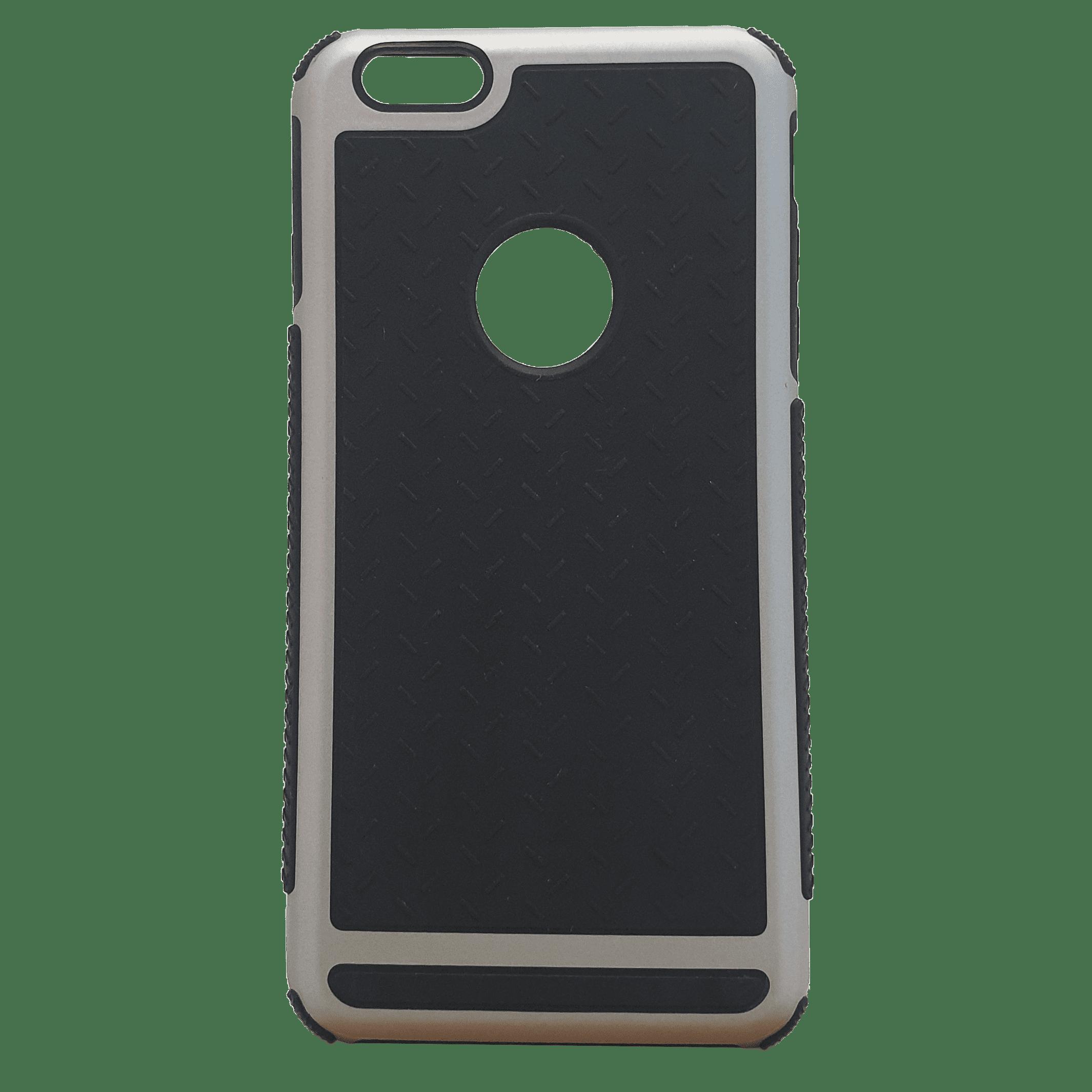 Mobilskal iPhone 6+ Svart med silverdetaljer