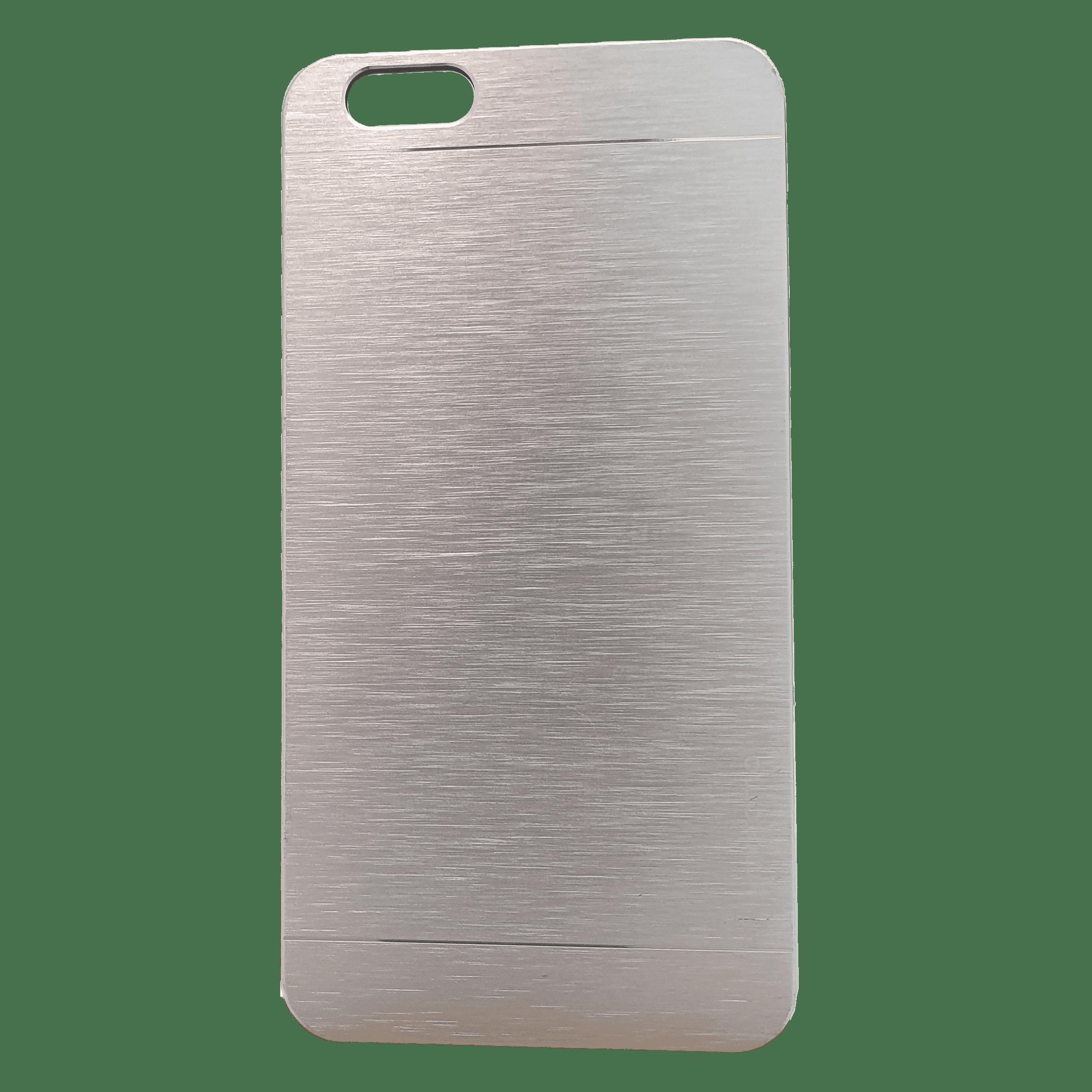 Mobilskal iPhone 6+ Silvermetall