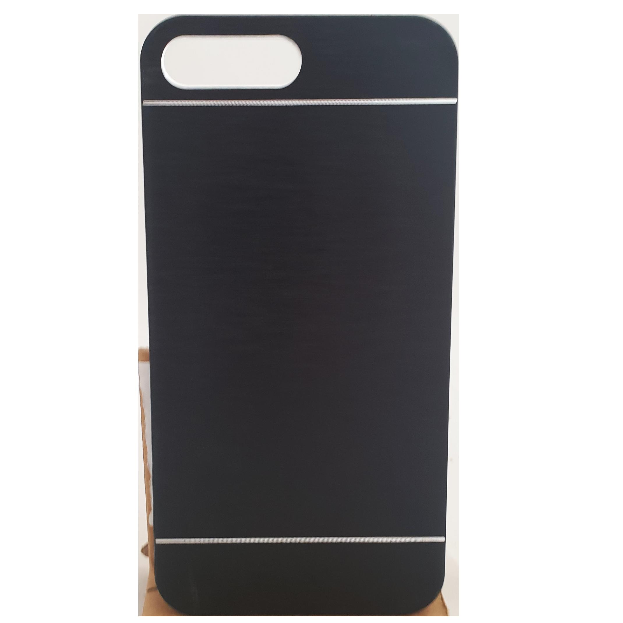Mobilskal iPhone 7 Plus Svart Metall