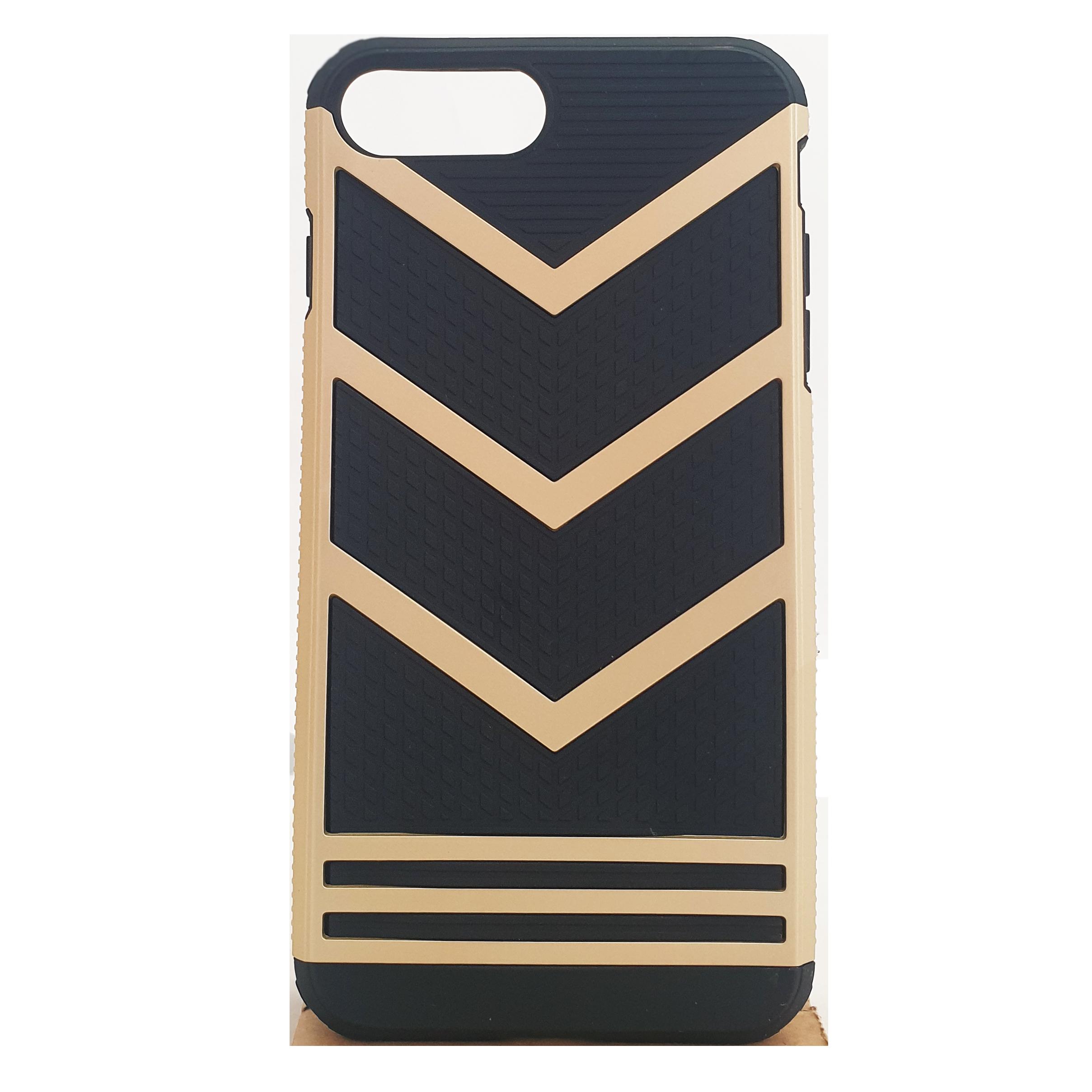 Mobilskal iPhone 7 Plus Svart med Guld