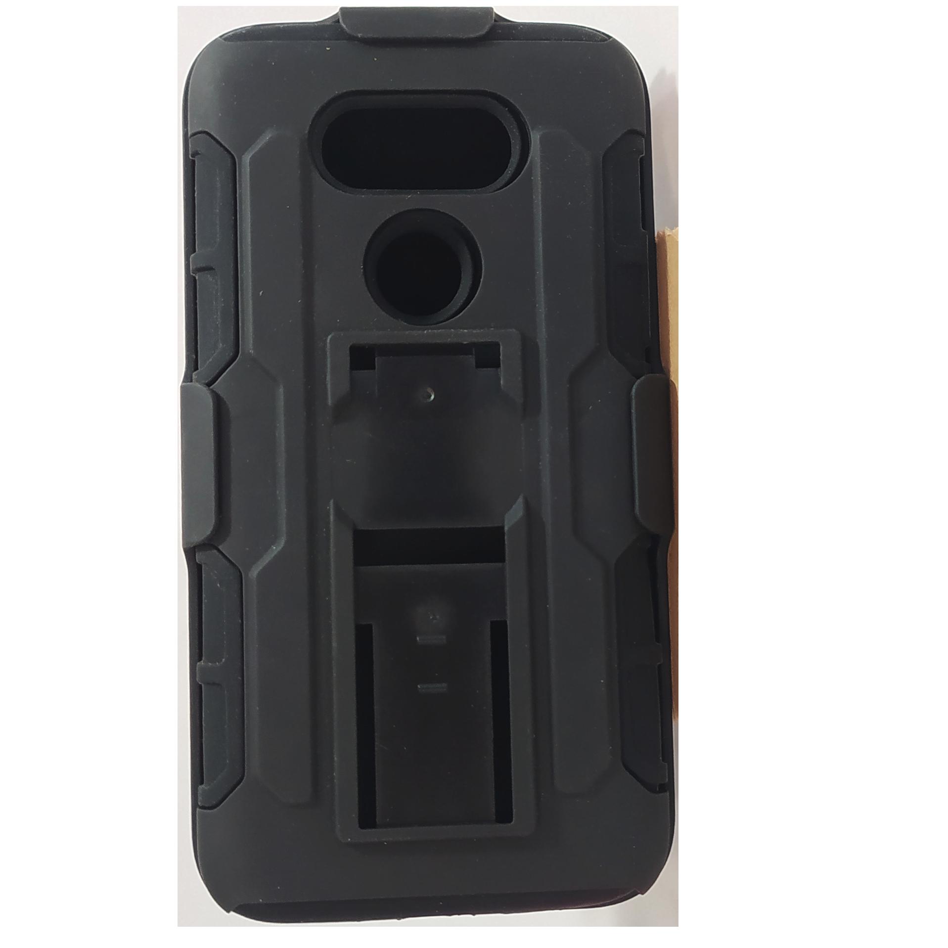 Mobilskal LG G5 Svart med Bältesfäste