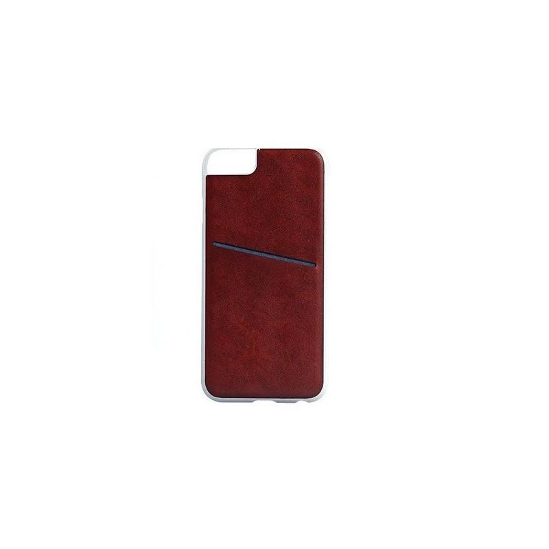 Mobilskal iPhone 6 / 6S Läder med kortfack